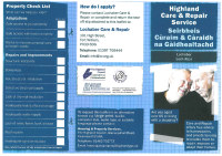 Highland Care & Repair Service